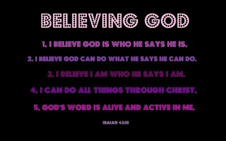 Believing God3