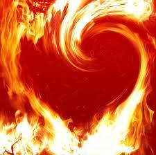 heart ablaze