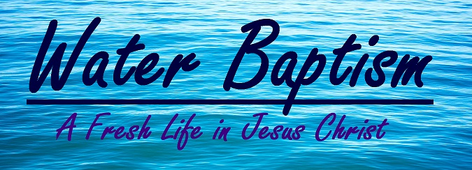 the model prayer the importance of water baptism sherline s